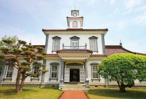 旧西田川郡役所(致道博物館内)